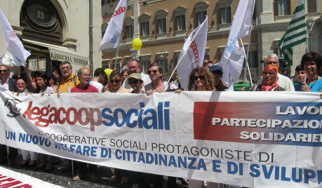 Italy's large and effective cooperative federations also include social cooperatives, which work to deliver services to communities rather than producing for the market.