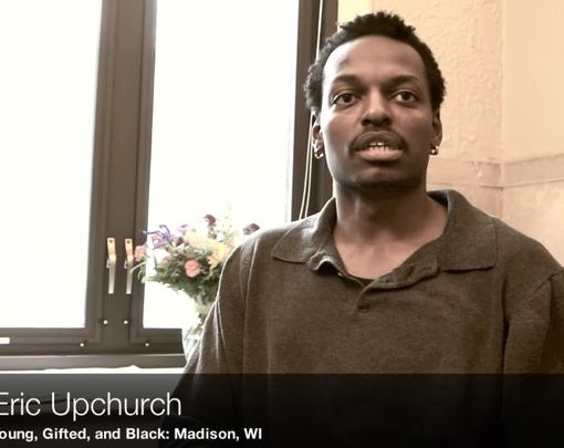A still from the video of organizers speaking about the Madison teach-in