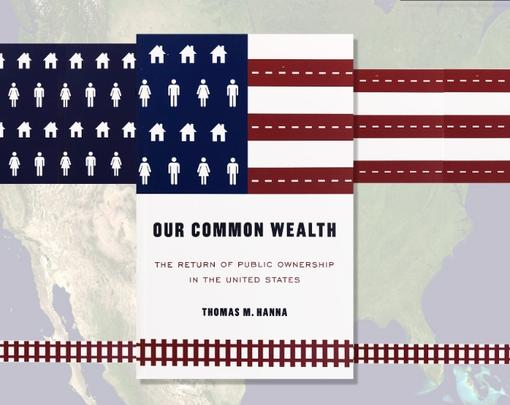 Cover of book, superimposed on a map of the US