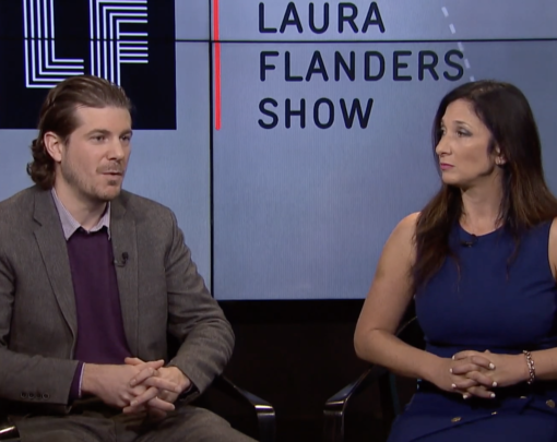 Thomas Hanna and Nomi Prins on The Laura Flanders Show