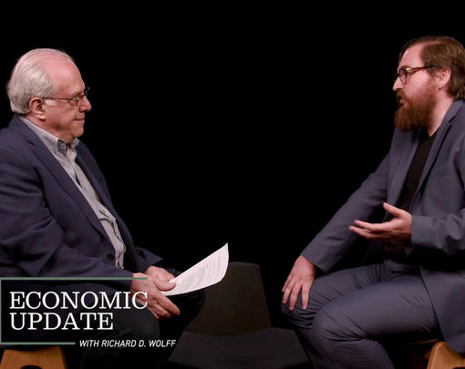 Economic Update host Richard Wolff interviews John Duda