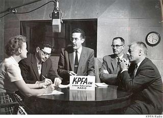 Radical pacifist radio station KPFA invented listener supported radio.