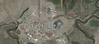 Aerial view of Larned Correctional Mental Health Facility