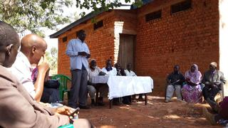 Management meeting of the RUMAKU primary cooperative.