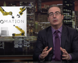 "John Oliver on ""Last Week Tonight"" discusses workplace automation"